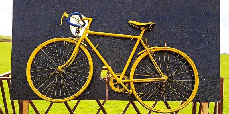 yellow-funny-bike